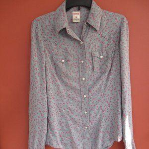 True Religion Floral Button Down Shirt
